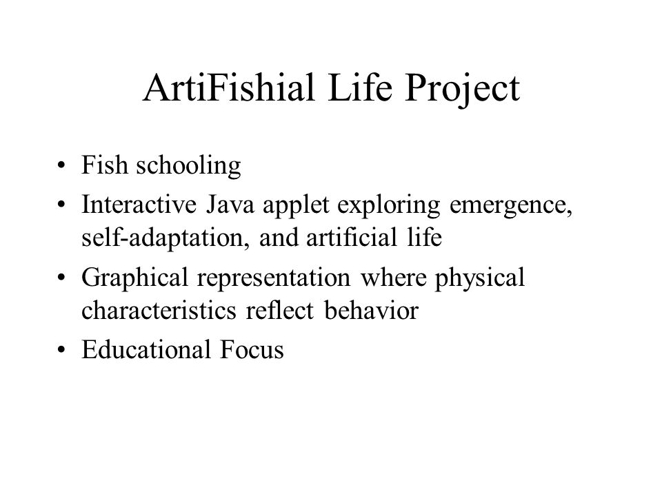 ArtiFishial Life Project