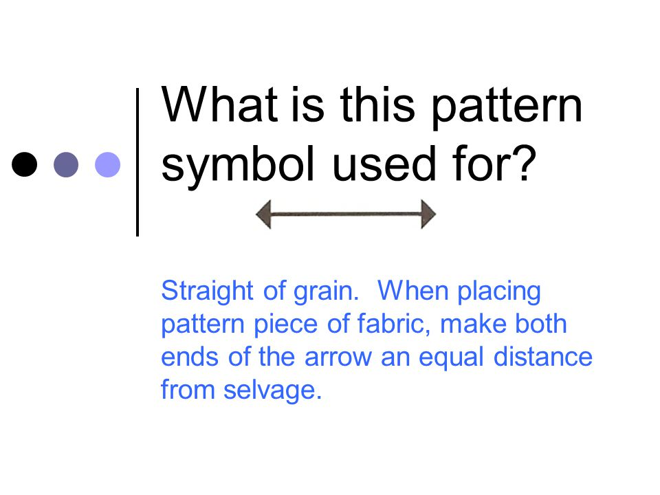 What is this pattern symbol used for