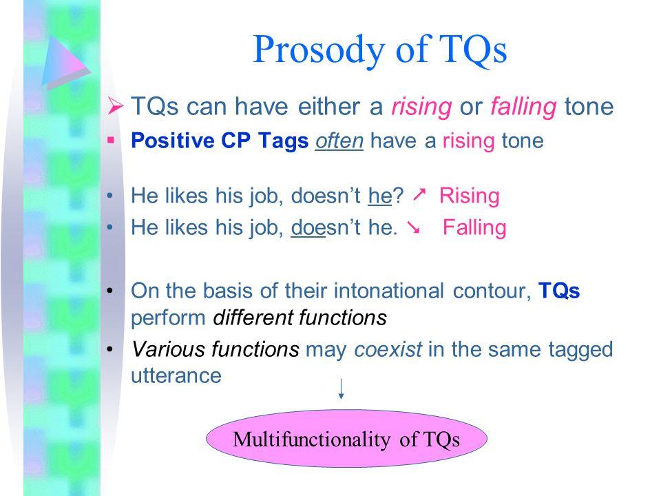 Multifunctionality of TQs