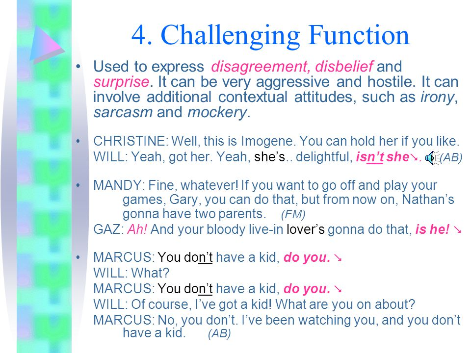 4. Challenging Function