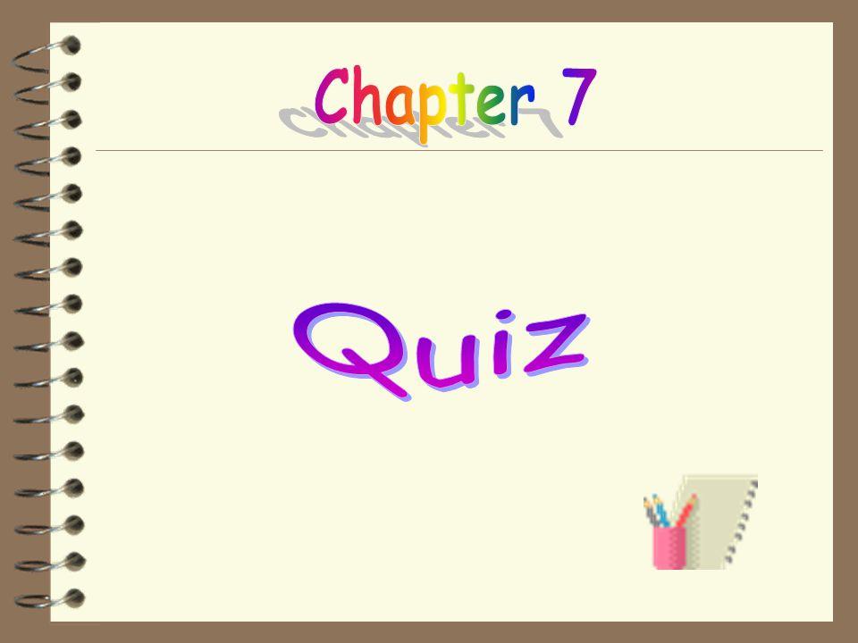 Chapter 7 Quiz