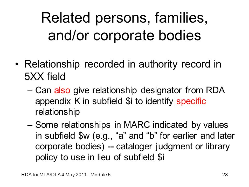 Related persons, families, and/or corporate bodies