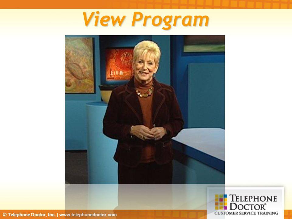 View Program