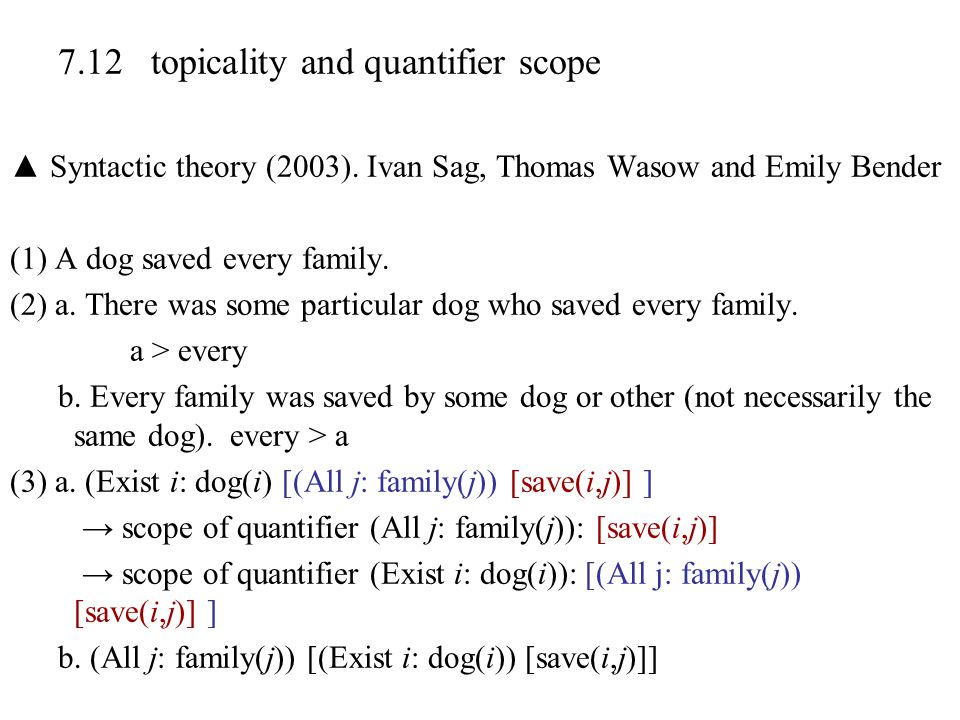 7.12 topicality and quantifier scope