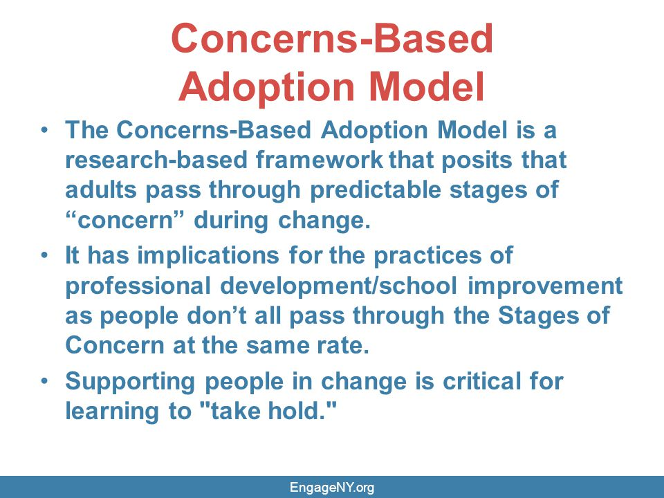 Concerns-Based Adoption Model