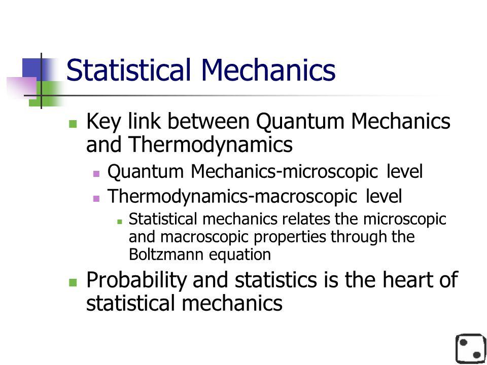 Statistical Mechanics
