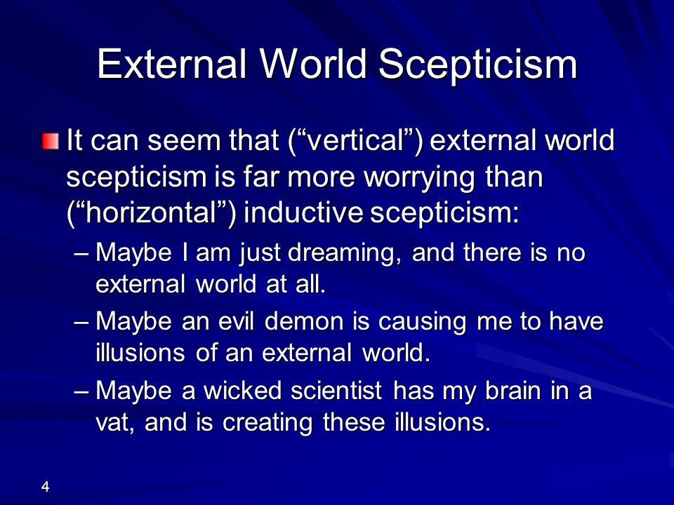 External World Scepticism