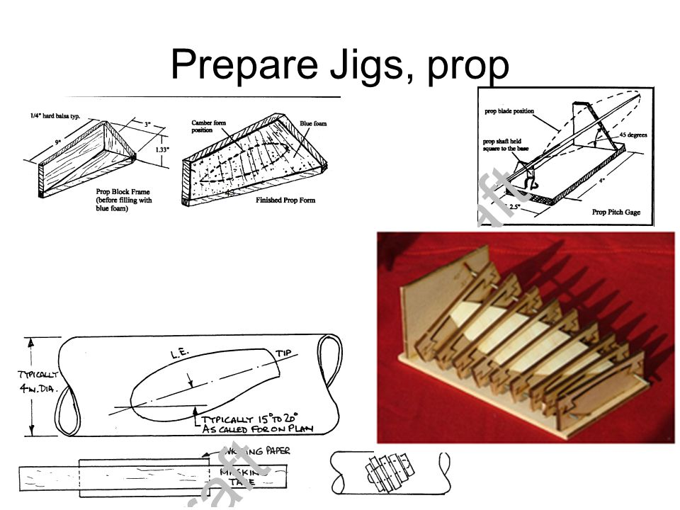 Prepare Jigs, prop