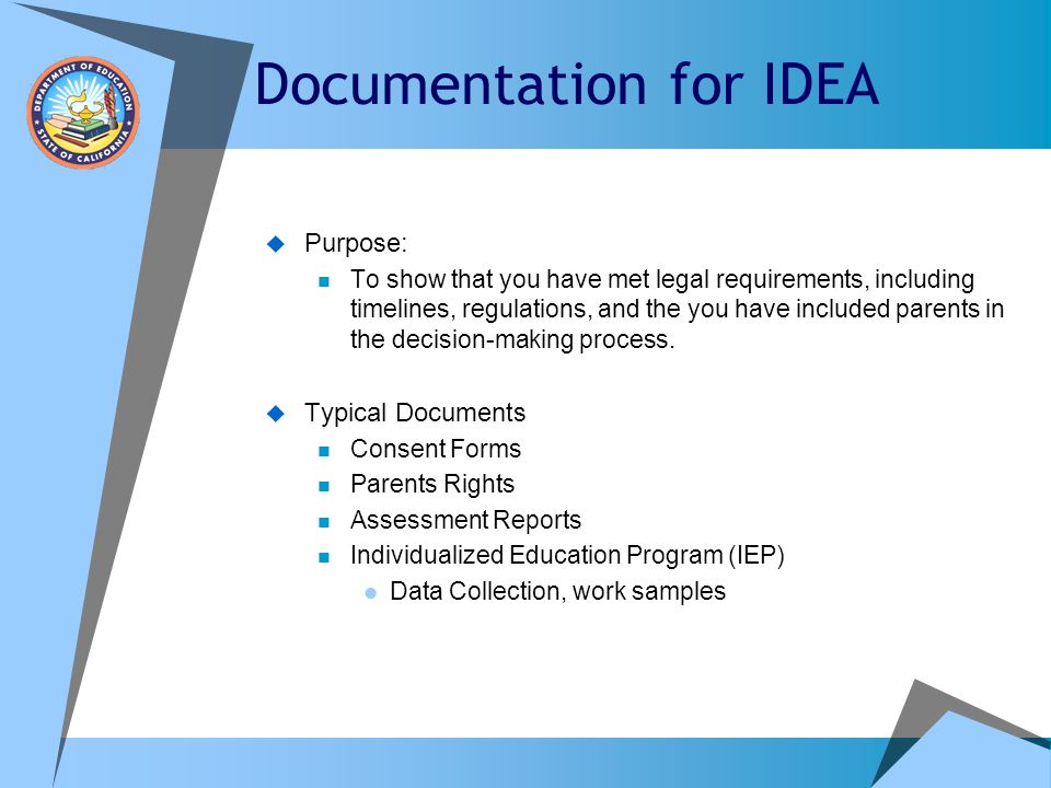 Documentation for IDEA