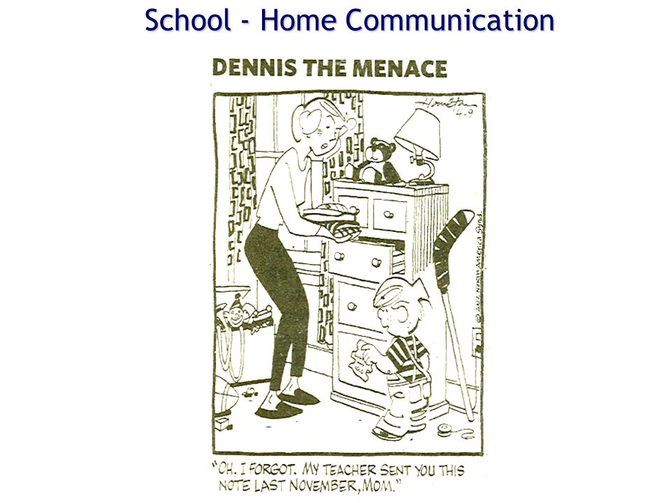 School - Home Communication