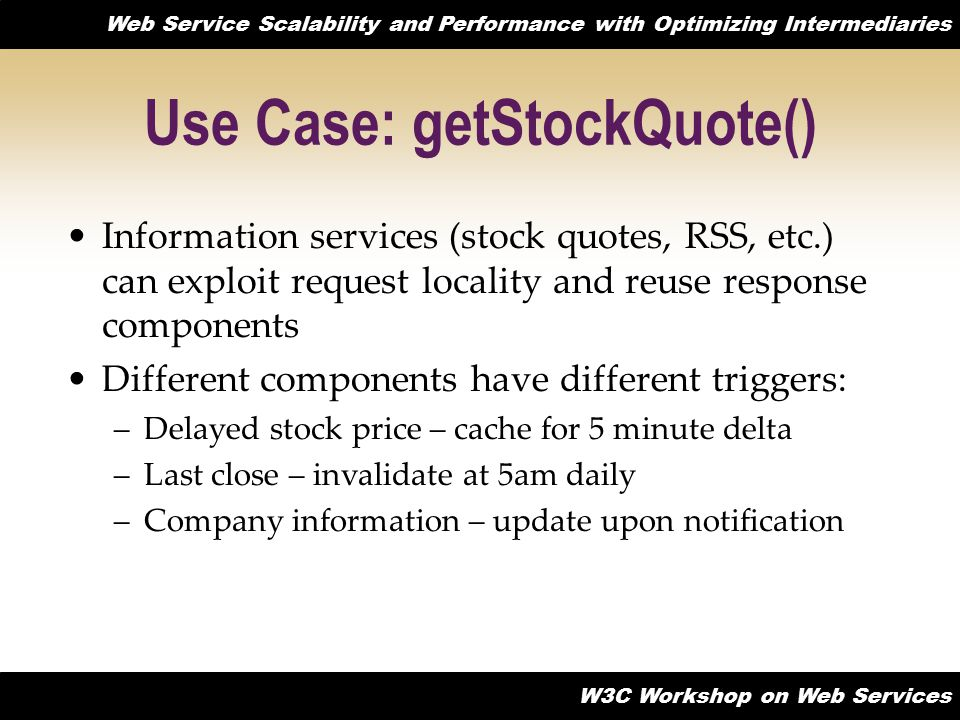 Use Case: getStockQuote()
