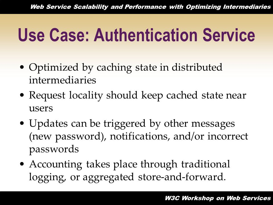 Use Case: Authentication Service