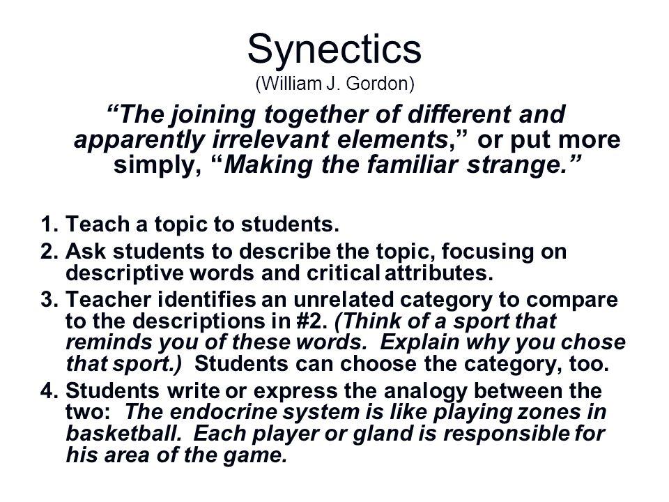 Synectics (William J. Gordon)