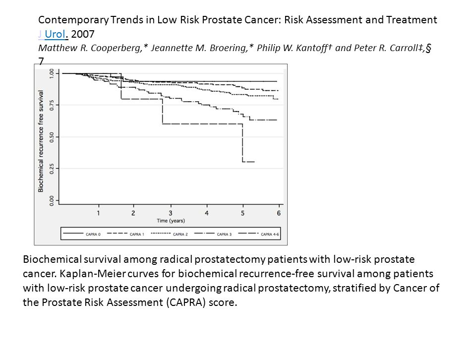 Contemporary Trends in Low Risk Prostate Cancer: Risk Assessment and Treatment
