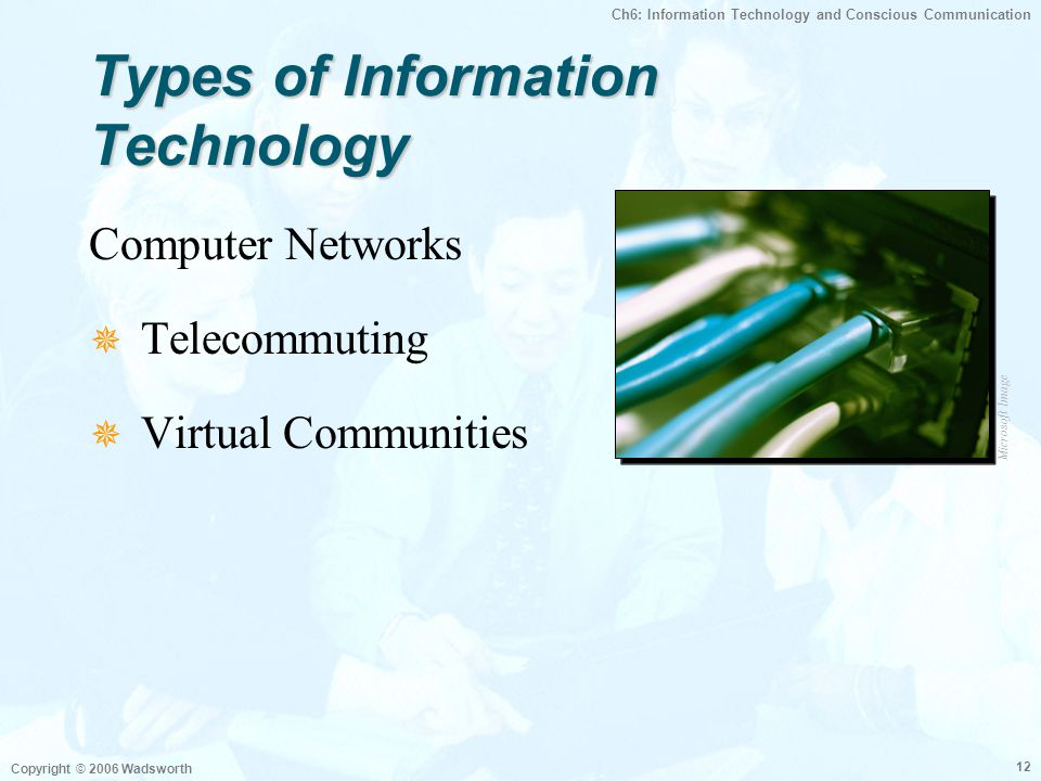 Types of Information Technology