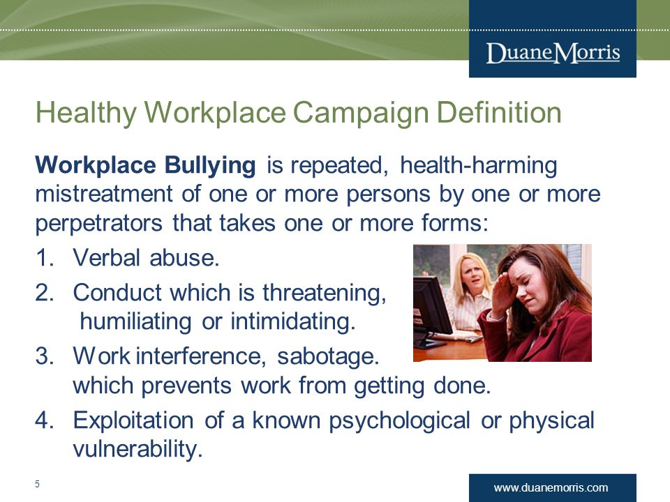 Healthy Workplace Campaign Definition