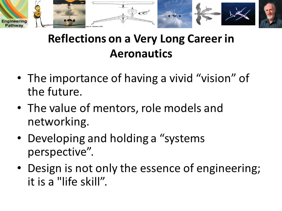 Reflections on a Very Long Career in Aeronautics