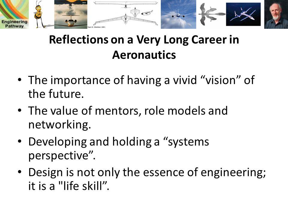 Reflections on a Very Long Career in Aeronautics