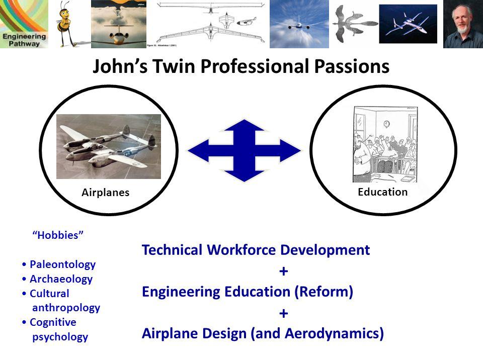 John's Twin Professional Passions