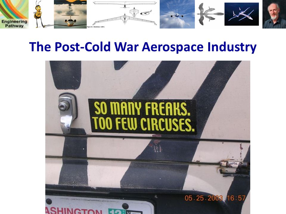 The Post-Cold War Aerospace Industry