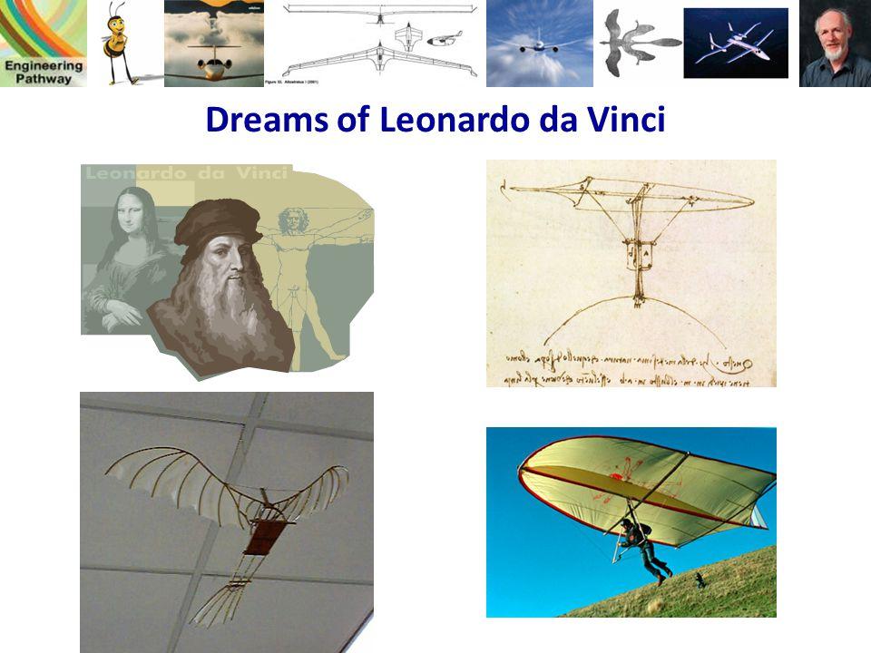 Dreams of Leonardo da Vinci