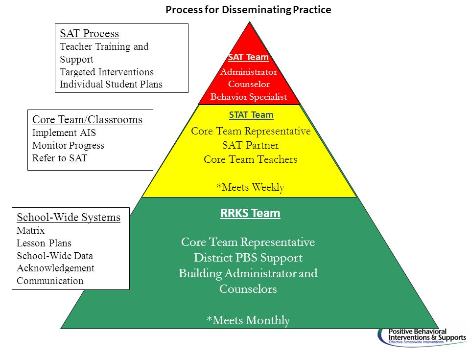 Process for Disseminating Practice