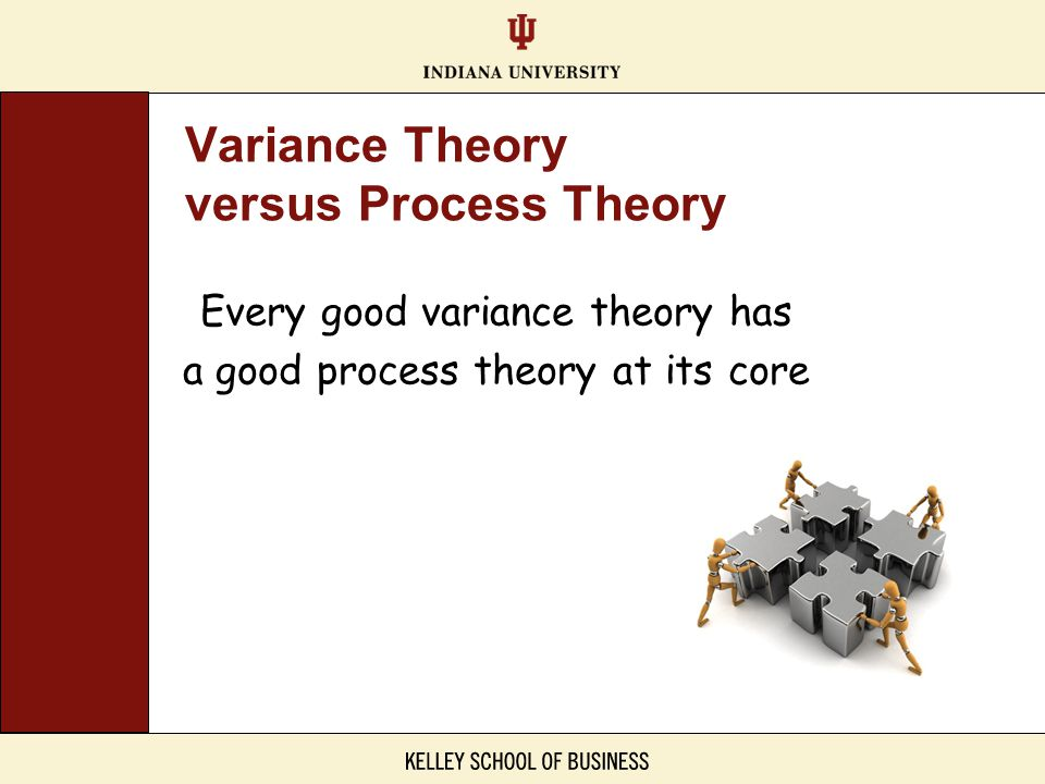 Variance Theory versus Process Theory