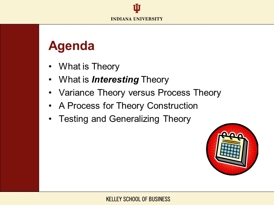 Agenda What is Theory What is Interesting Theory