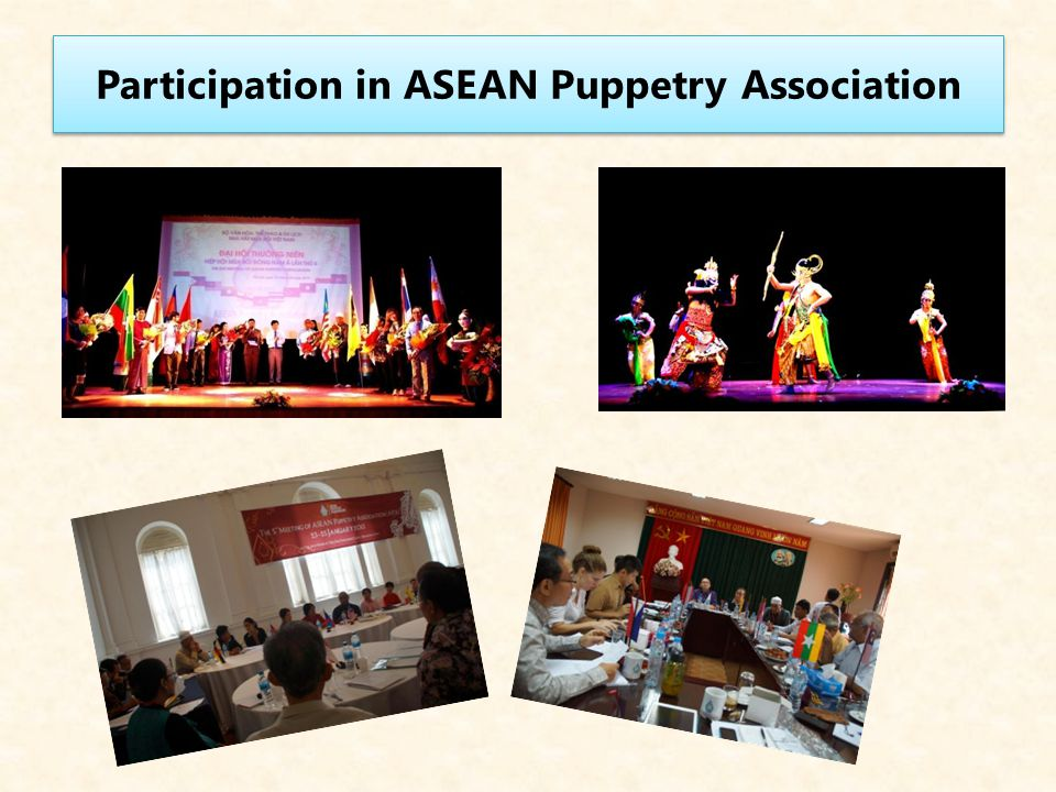 Participation in ASEAN Puppetry Association