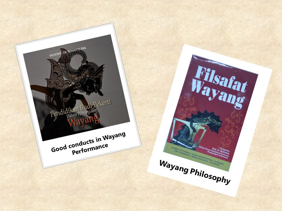 Good conducts in Wayang Performance
