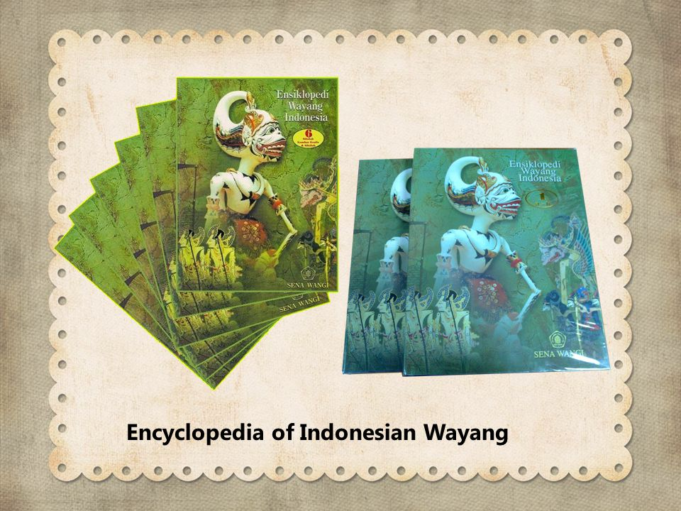 Encyclopedia of Indonesian Wayang