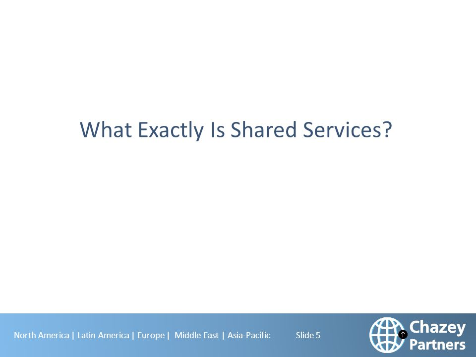 What Exactly Is Shared Services