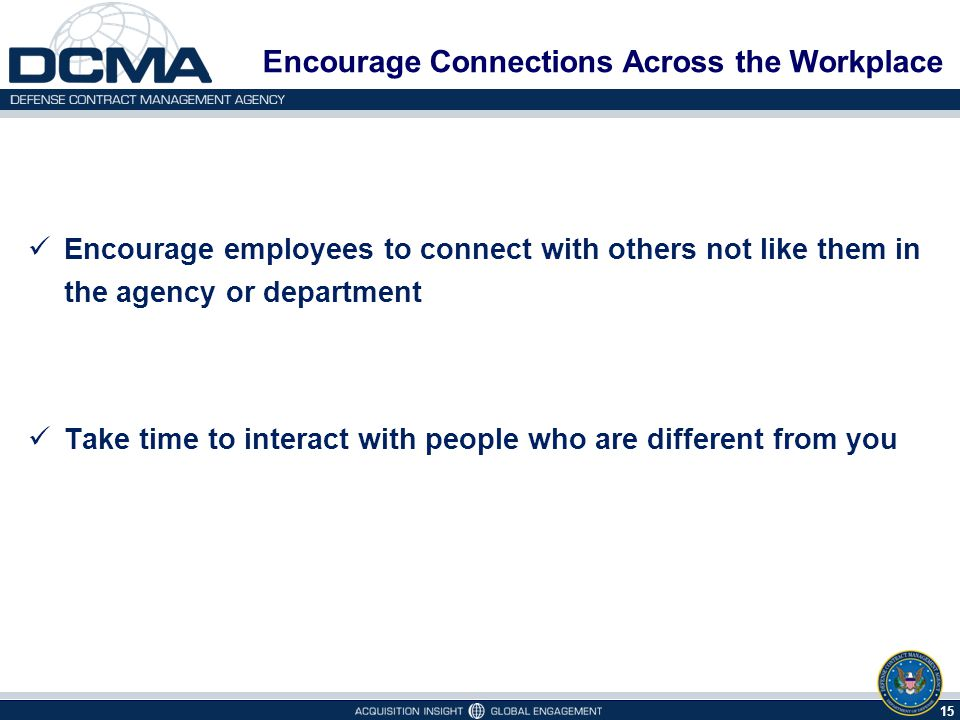 Encourage Connections Across the Workplace