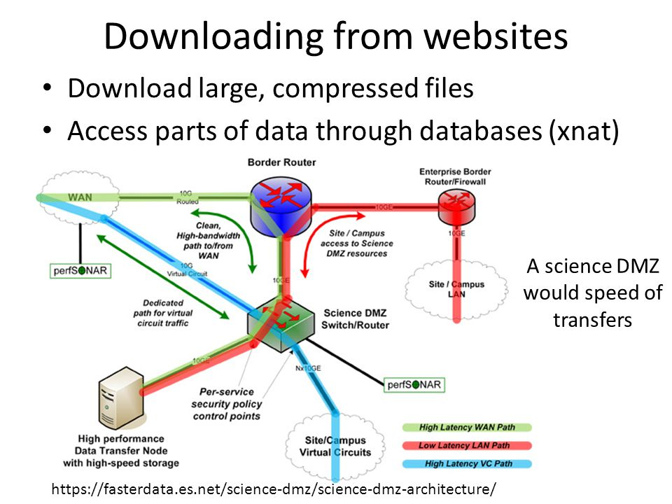 Downloading from websites