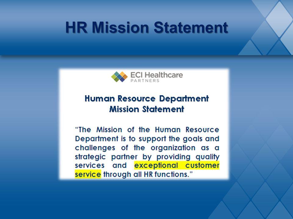 HR Mission Statement