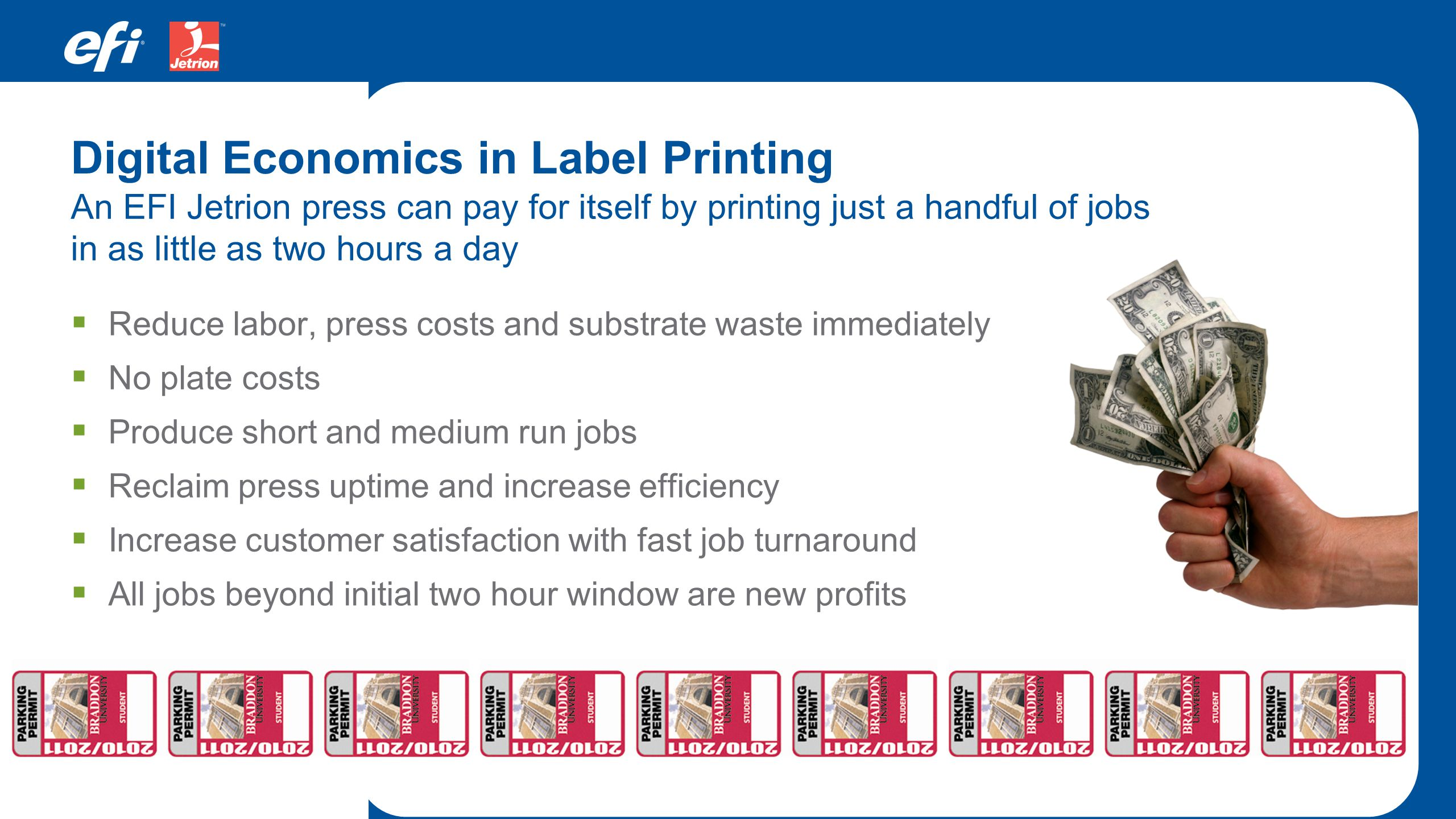 Digital Economics in Label Printing