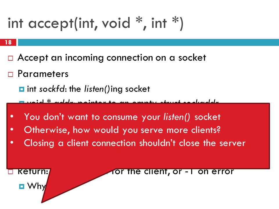 int accept(int, void *, int *)