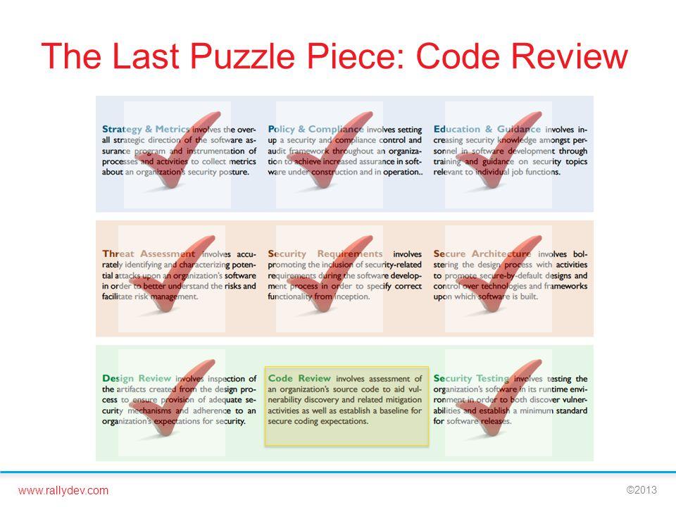 The Last Puzzle Piece: Code Review