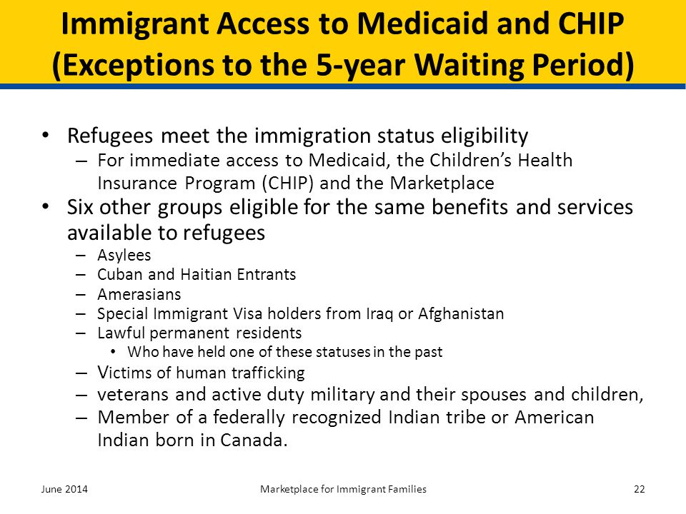 Marketplace for Immigrant Families