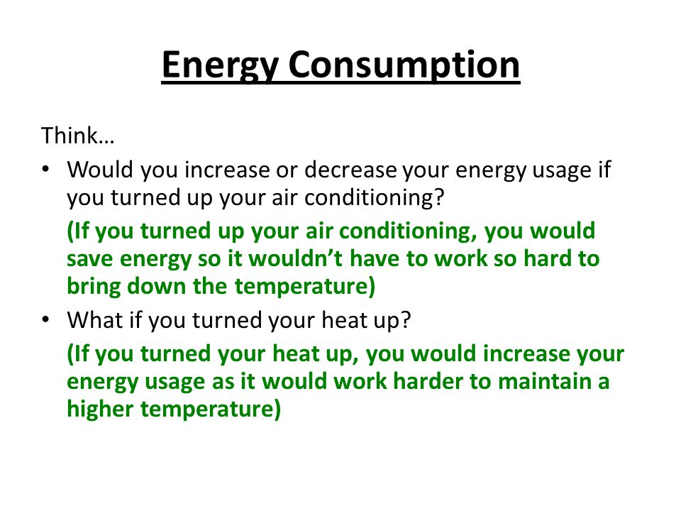 Energy Consumption Think…