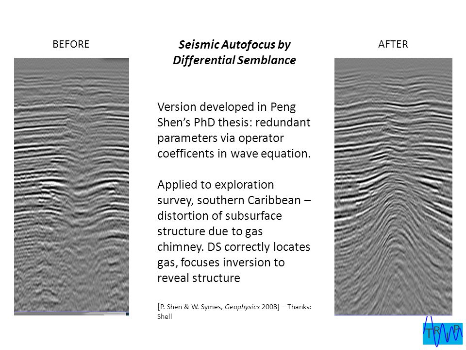 Seismic Autofocus by Differential Semblance