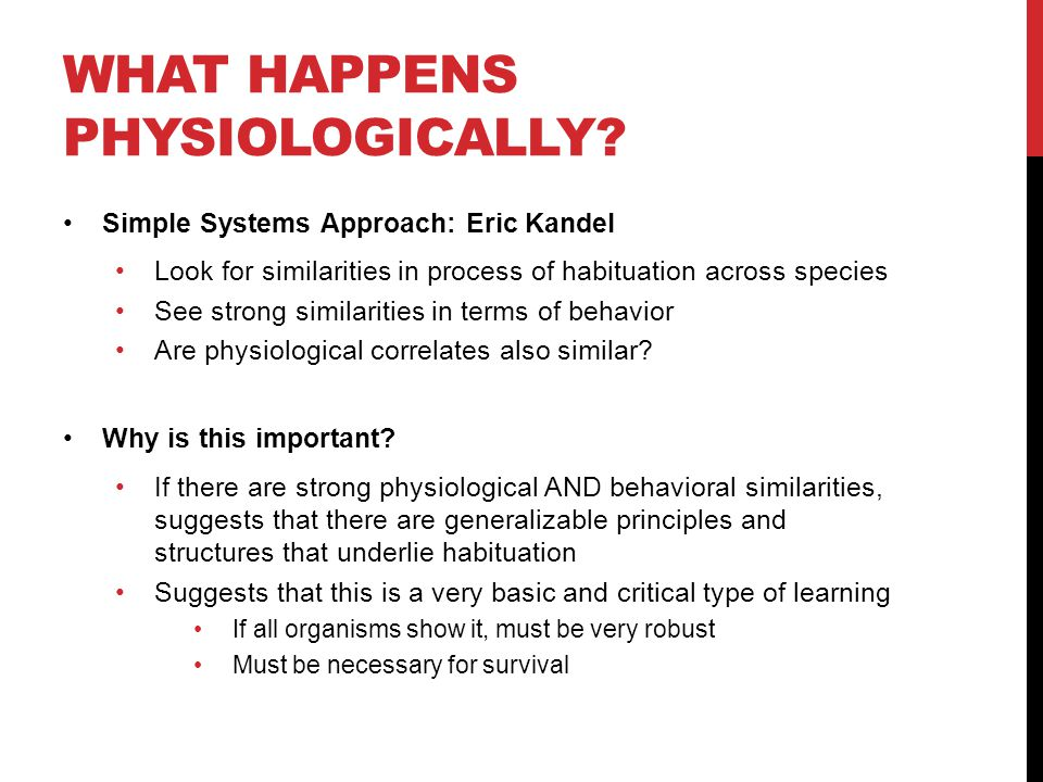 What happens physiologicallY