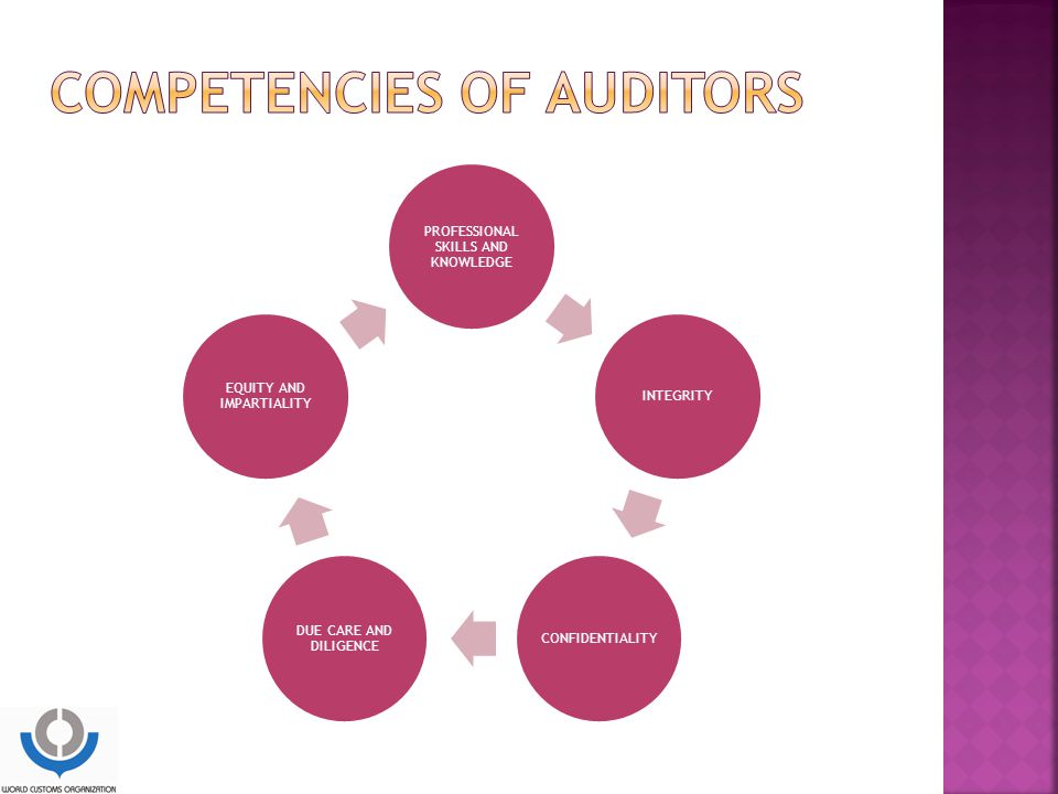 Competencies of auditors
