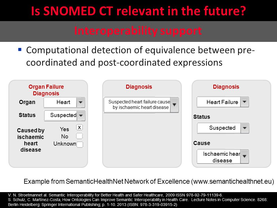 Is SNOMED CT relevant in the future