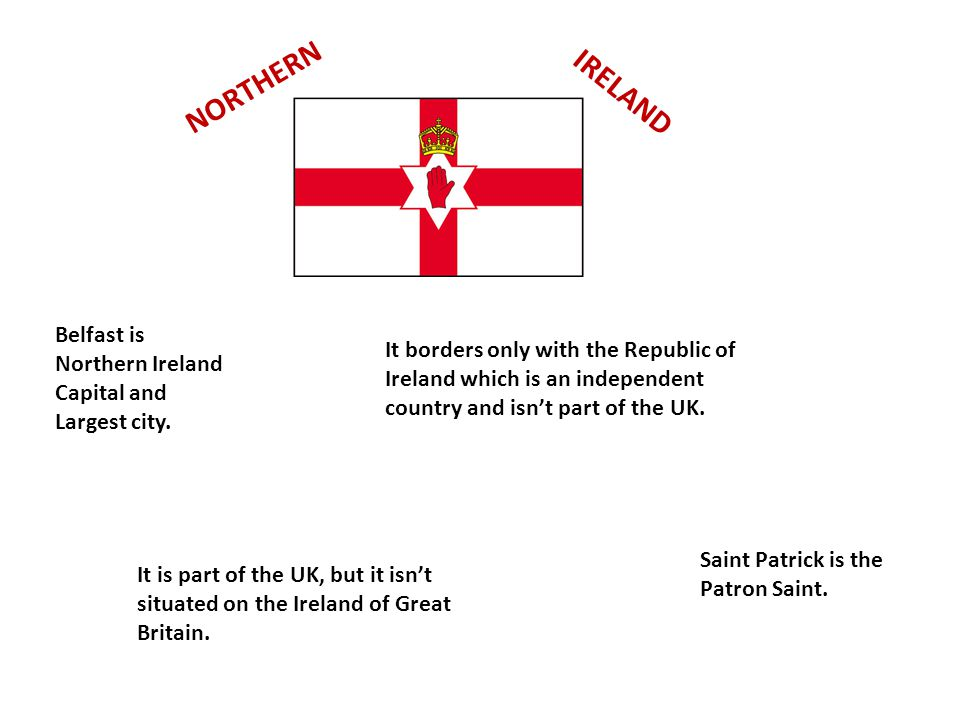 NORTHERN IRELAND Belfast is Northern Ireland