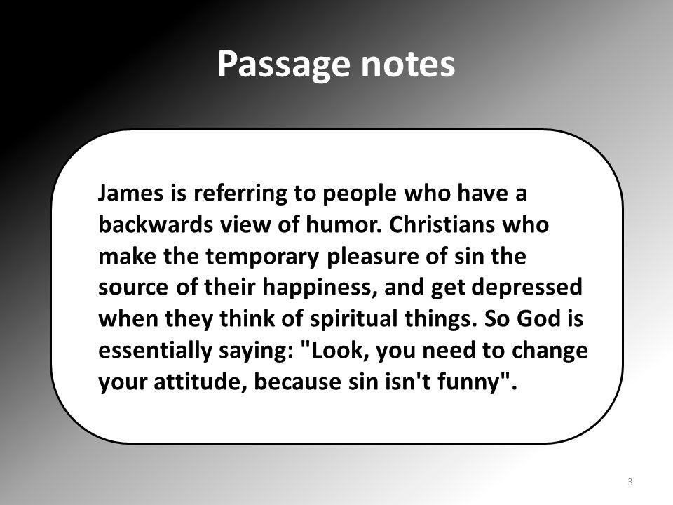 Passage notes