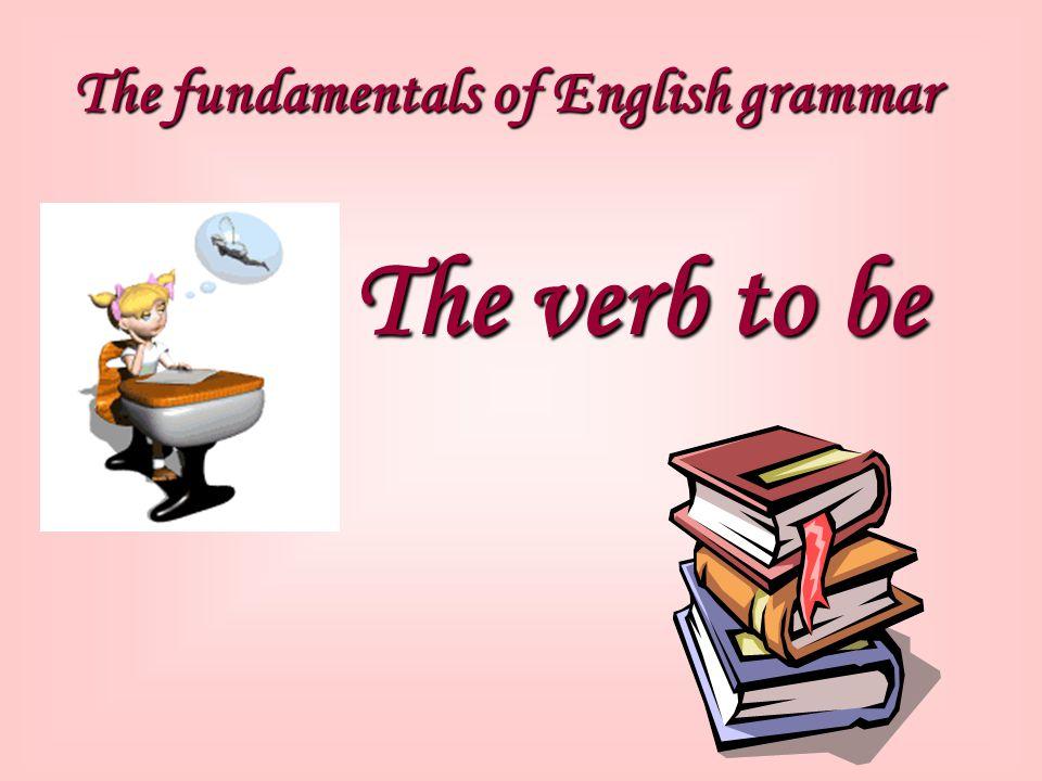 The fundamentals of English grammar
