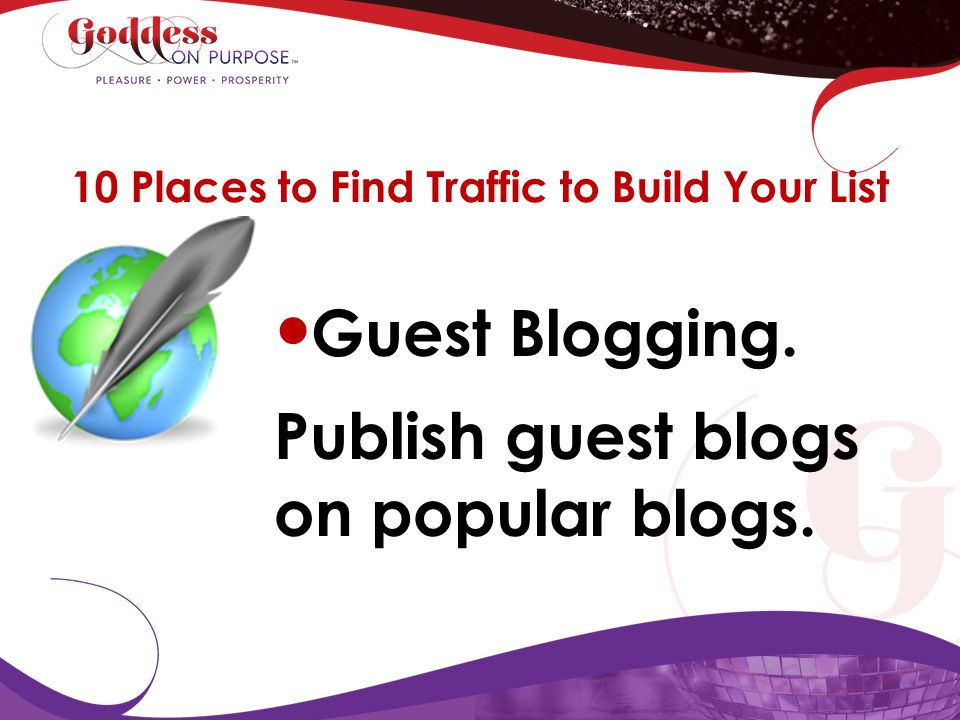 10 Places to Find Traffic to Build Your List