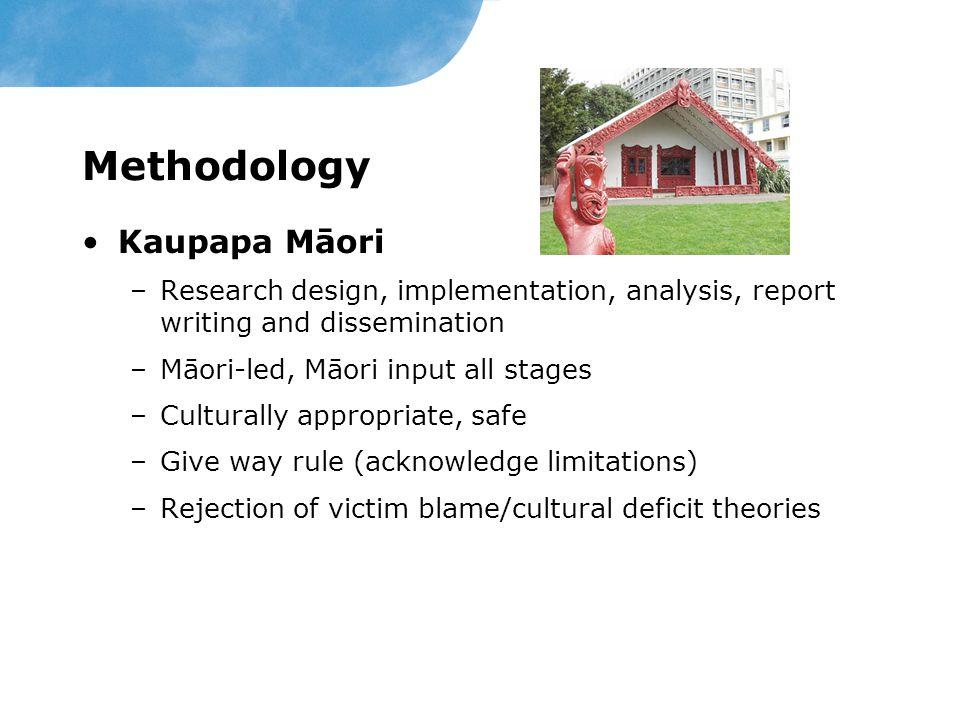 Methodology Kaupapa Māori