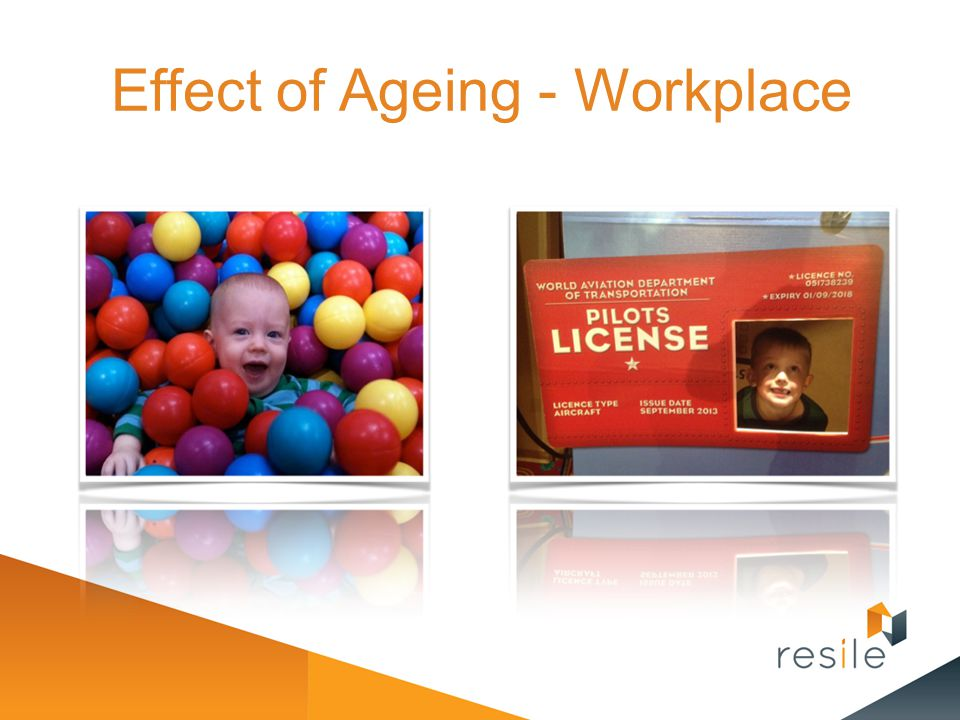 Effect of Ageing - Workplace